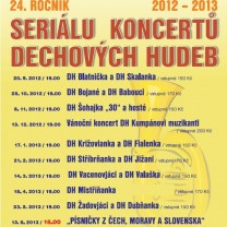 SERIL KONCERT DECHOVCH HUDEB