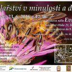 Včelařství v minulosti a dnes - pozvánka