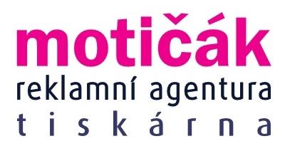 logo motičák - reklama