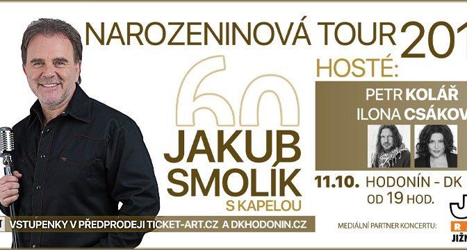 Jakub Smolík – Tour 60 s kapelou a hosty