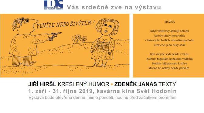 Jiří Hiršl – kreslený humor, Zdeněk Janas – texty