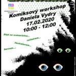 Komiksový workshop Daniela Vydry