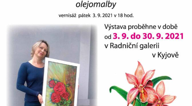 Kalich lásky – výstava obrazů Lidka Bednářová