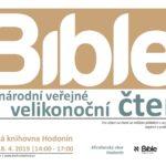 Celonárodní veřejné velikonoční čtení Bible