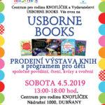 Prodejní výstava knih Usborne books