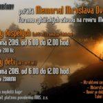 MEMORIAL MIROSLAVA DVOŘÁKA formou rybářských závodů na revíru Morava 4B