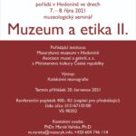 Muzeologický seminář Muzeum a etika II.