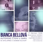 Bianca Bellová - Autorské čtení u baru